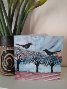 Gallery printed greeting cards of my artwork Available at www.etsy.com/uk/shop/heartofnaturestudio
