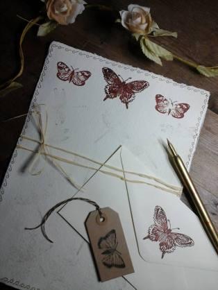 Writing/journal set ~ www.etsy.com/uk/shop/BohemianBlessed
