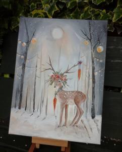 www.etsy.com/uk/shop/heartofnaturestudio ~ original art work on canvas